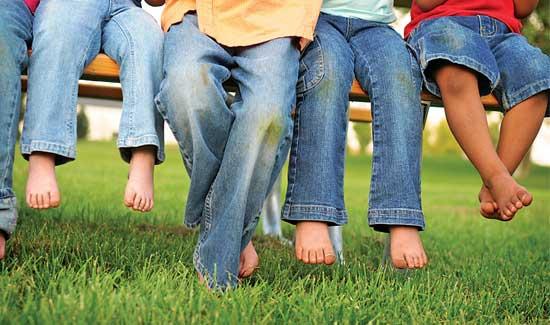 Image result for چطور لکه های لباس بچه ها را راحت تر پاک کنیم؟